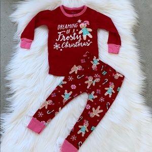 Carters 12 month Christmas pajamas